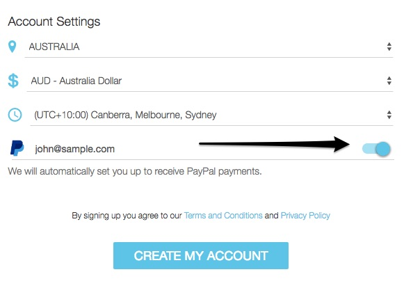 Using Paypal