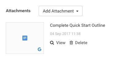 upload Google Drive Files to Avaza